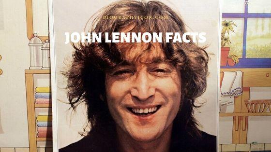 75 American Singer John Lennon Interesting Facts