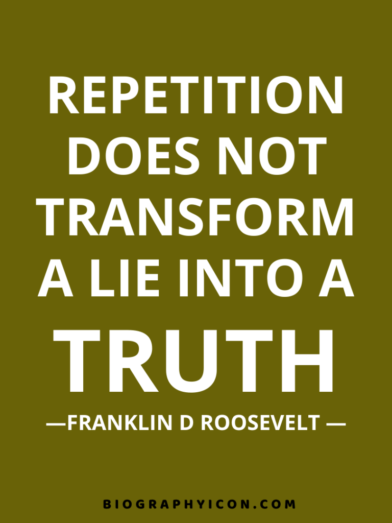 7 Realistic Life Lessons from Quotes by Franklin D Roosevelt